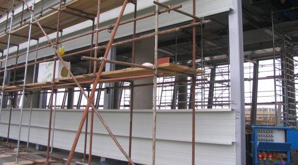 Podkonstrukcijska pločevina pri izdelavi streh
