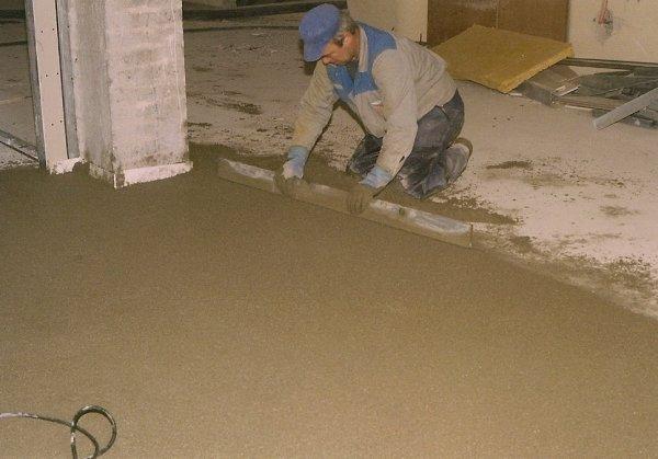 Armiranje betonskih estrihov