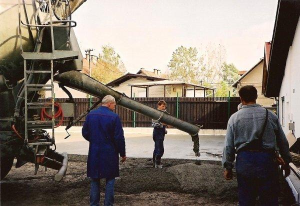 Priprava in mešanje betona