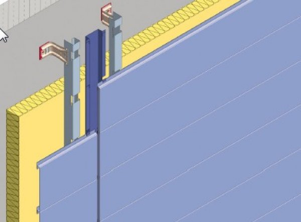 Debelina izolacije fasade - Slepa fuga Planum