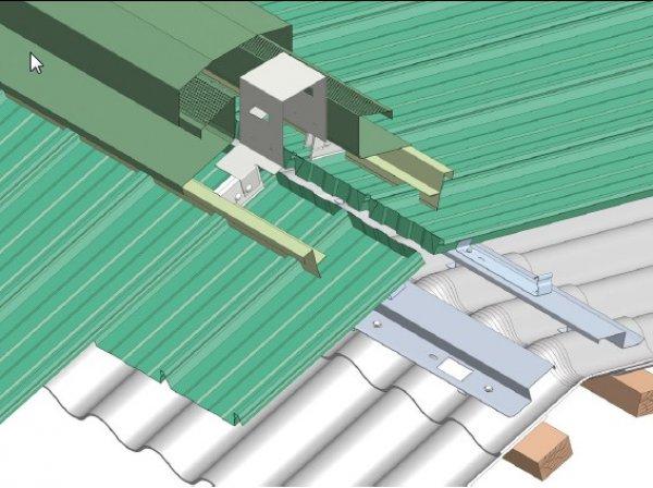 Stranska obroba hladna streha