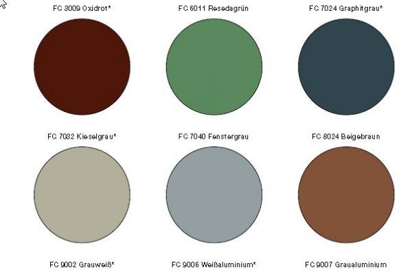 Standardni barvni odtenki