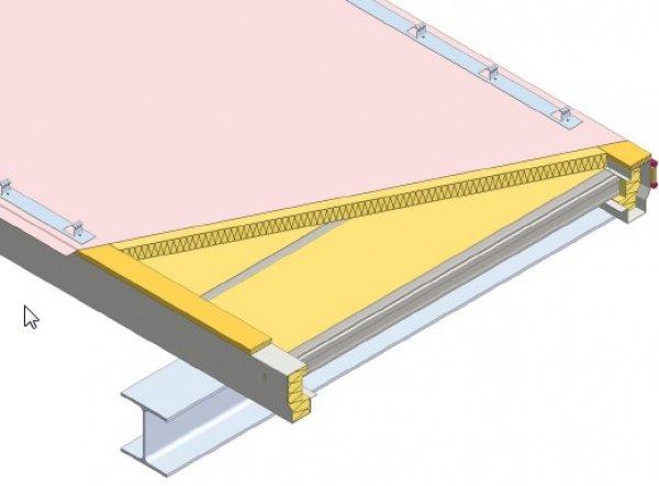 Strešna kritina Element položena prečno