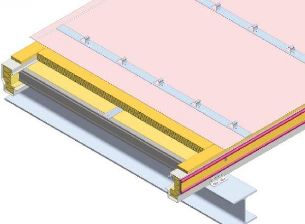Strešna kritina Element položena vzdolžno