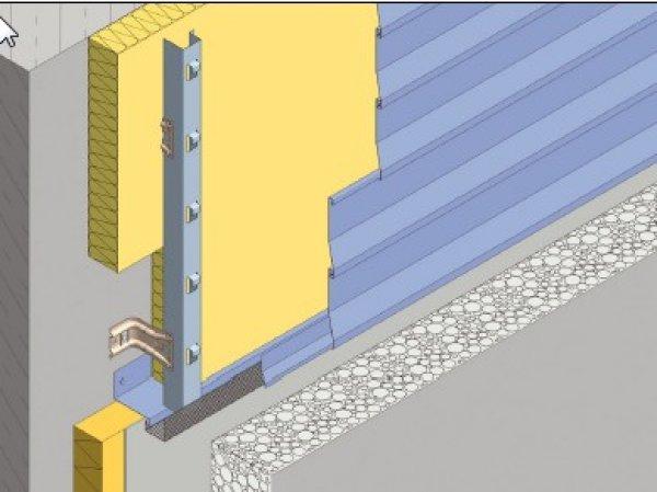 Toplotna izolacija fasade Struktur - spodnj zaključek STRUKTUR