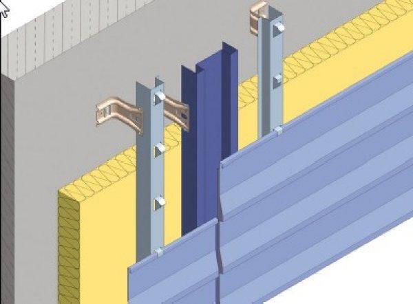 Toplotna izolacija fasade - slepa fuga Struktur