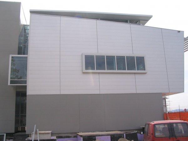 Letališče Brnik - DOMICO PLANUM fasada