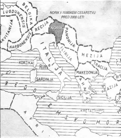 Norik v rimskem cesarstvu