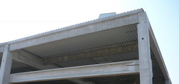 Podkonstrukcijska pločevina pri strehah