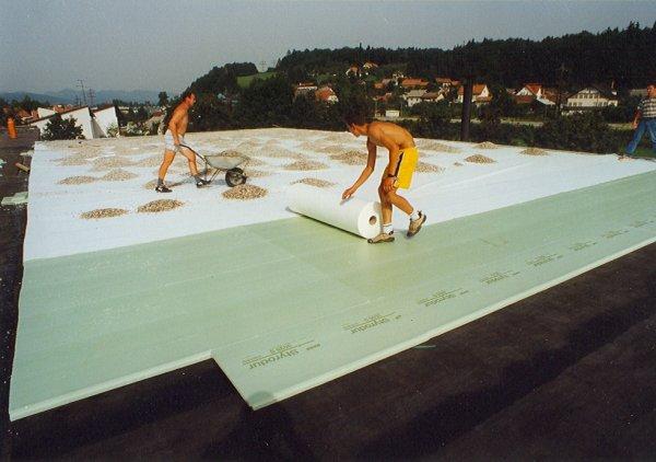 Obrnjene ravne strehe